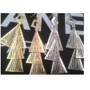 ingrosso Gioielli & Orologi: triangolo lungo K112 orecchini Vintage stile retrò