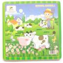 grossiste Puzzle: Puzzle en bois 16 éléments d'animaux