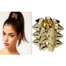 wholesale Hair Accessories: G3P Eraser hair  rings of gold SPIKE ROCK D & L