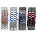 Muy de moda reloj LED ION SAMURAI 4 colores
