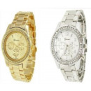 Großhandel Schmuck & Uhren: GENEVA beobachten  Gold Silber Rhinestones Svarowsk