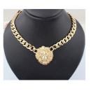 groothandel Sieraden & horloges: N060 Collier  hanger ketting LION Rihanna