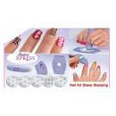 wholesale Manicure & Pedicure: SalonXPRES set a stamp to Nail Art