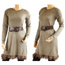 wholesale Pullover & Sweatshirts: WOMEN'S  SWEATER TUNIC - MIX COLOR