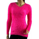 Großhandel Pullover & Sweatshirts: PULLOVER Pullover Frauen - COLOR MIX