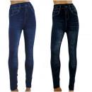 ingrosso Pantaloni: Leggings DONNA JEANS - cotone