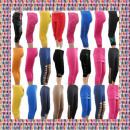 wholesale Trousers:Leggins 3/4 - mix