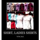 wholesale Shirts & Blouses:SHIRT, LADIES SHIRTS