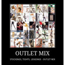 wholesale Trousers: LEGGINGS, TIGHTS,  LEGGINGS - Outlet MIX