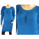 WOMEN'S SWEATER TUNIC - MIX COLOR