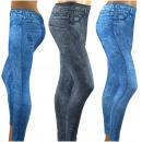 Gamaschen-Jeans - WINTER
