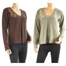 Großhandel Hemden & Blusen: T-Shirt, Bluse der Frauen
