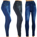 Leggings  Frauen-Jeans - COTTON