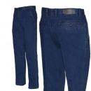 Męskie klasyczne spodnie jeansowe 3042. Moda męska