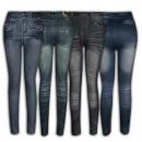 Różnorodne legginsy jeansowe Ref. 353