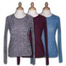 hurtownia Plaszcze & Kurtki: Damskie swetry  Ref. 2212. Moda damska.
