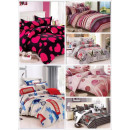 wholesale Bedlinen & Mattresses: Sets of Fitted Sheets Ref. 6117. Home clothes