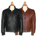 wholesale Coats & Jackets: Leatherette Jackets Ref 1291