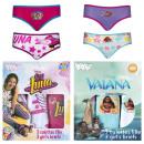 Großhandel Dessous & Unterwäsche: Höschen Mädchen Disney Ref. D 23