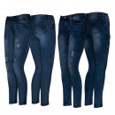 wholesale Fashion & Apparel: Jeans Woman with Breaks Ref. S 180.