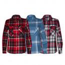 Großhandel Hemden & Blusen: Shirts Flanell von Frau Ref. 9266
