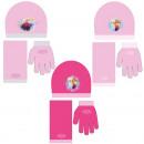 Beanie + Schal +  Handschuhe DIE SCHNEEKÖNIGIN - (3
