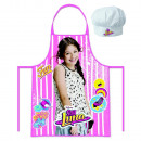 Set Apron + Hat Head SOY LUNA