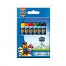 Set 8 color pencils Wax PAT PATROL