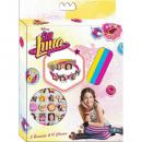 Set 3 Bracelets Silicone + Charms SOY LUNA - (Prés