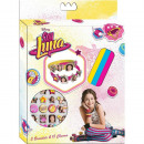 Set 3 Silicone Bracelets + Charms SOY LUNA - (Pres