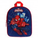Backpack 3D Spiderman - Blue