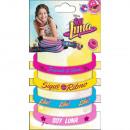 Silicone Bracelet Set SOY LUNA