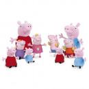 Peluche 27cm PEPPA PIG - (6 Modèles Assortis)