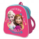 Backpack 24cm THE SNOW QUEEN - Rose