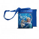 Square Shoulder Bag THE SNOW QUEEN - Blue