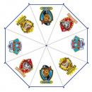Transparente  Regenschirm PAT PATROL