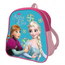 Backpack 24cm THE SNOW QUEEN - Blue