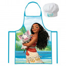 Set Tablier + Toque de Chef  VAIANA