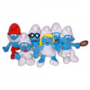 Plush 20cm SMURFS - (6 Matching Models