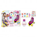 Coffret Eau de Toilette 100ml + Stickers + Charms
