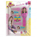 9 Hair Accessories Set + Brush SOY LUNA