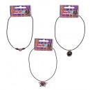 Medallion necklace VAMPIRO CHICA (3 Models Assor