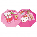 Automatic umbrella  Hello Kitty - (2 Models ass