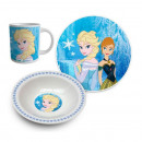 Set Ceramic Breakfast THE SNOW QUEEN -