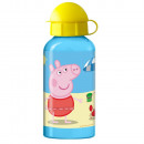 Gourde Alu 400ml PEPPA PIG