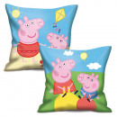 Pillow 35x35cm Peppa Pig - (2 Matching Models)