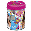 Metal Money Box + Key SOY LUNA