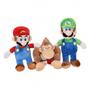 23cm Plush MARIO BROSS - (2 Matching Models)