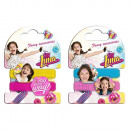 Set 2 Hair Elastics SOY LUNA - (Display of