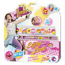 Stationery Set 4 Rooms + Metal Case SOY LUNA